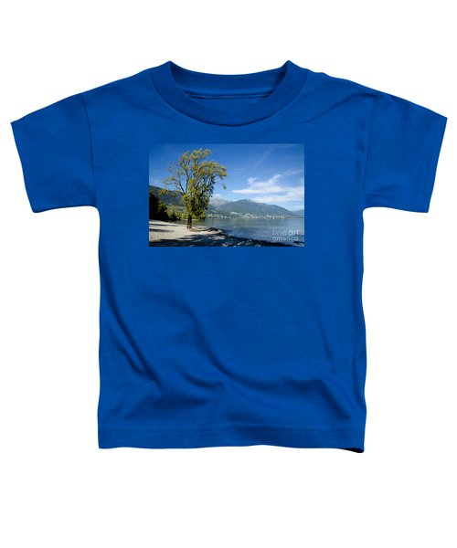 Tree On The Beach Toddler T-Shirt