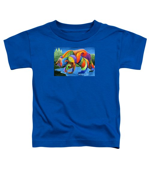 Zen Bear Toddler T-Shirt