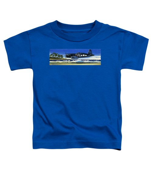Into The Blue American War Planes Toddler T-Shirt