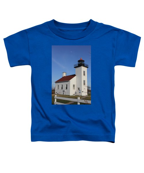 Sand Point Lighthouse Escanaba Toddler T-Shirt