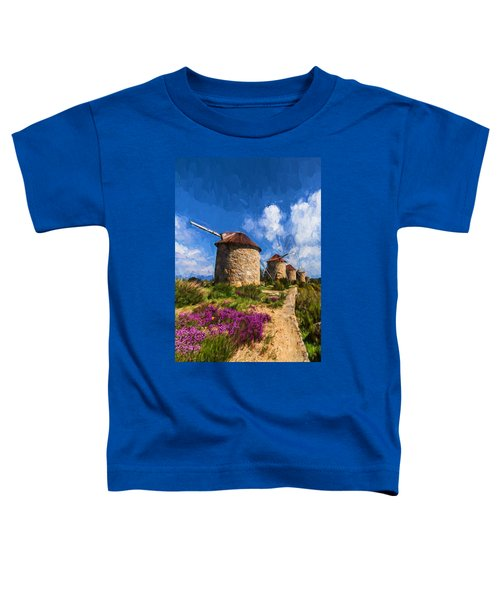 Windmills Of Portugal Toddler T-Shirt