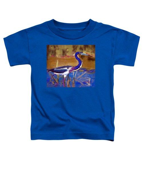 081315 Heron Toddler T-Shirt