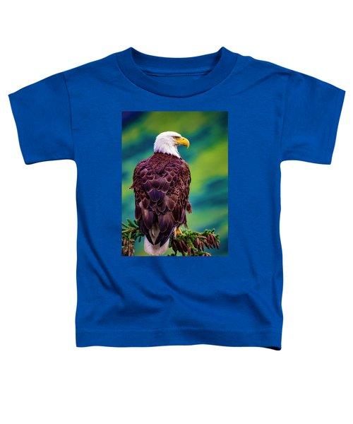 Alaska Bald Eagle Toddler T-Shirt