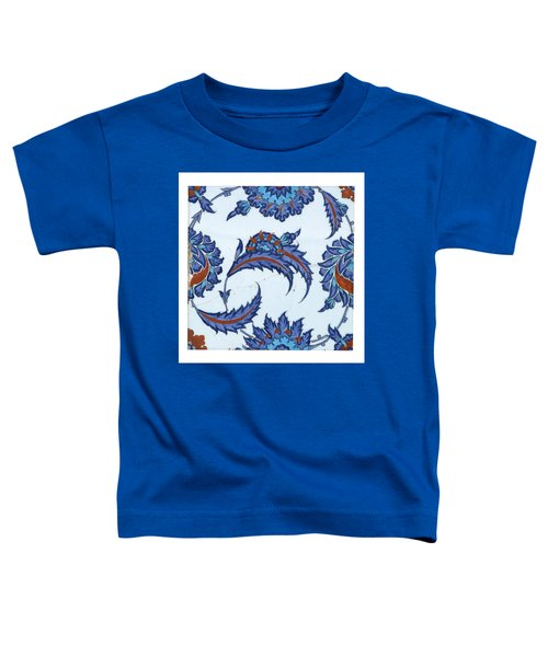 An Iznik Polychrome Pottery Tile Toddler T-Shirt