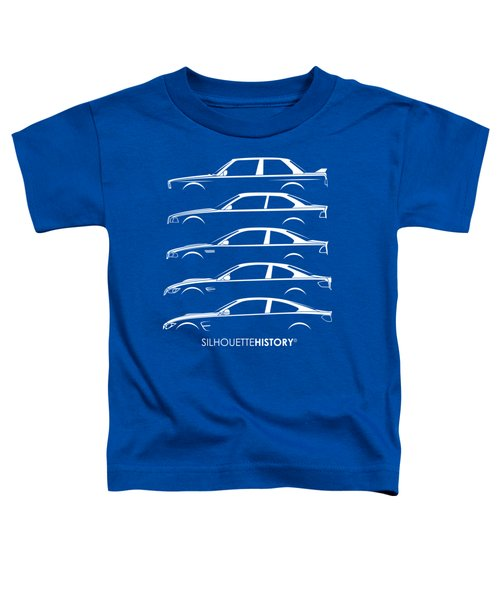 Bavarian M Three Silhouettehistory Toddler T-Shirt
