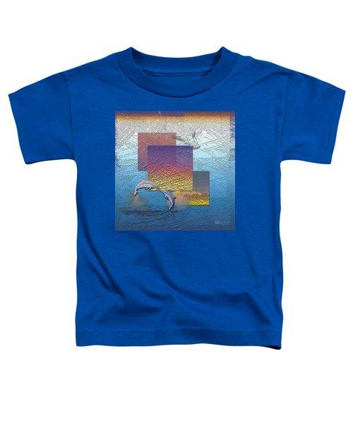 Blue Lagoon Sunrise  Toddler T-Shirt