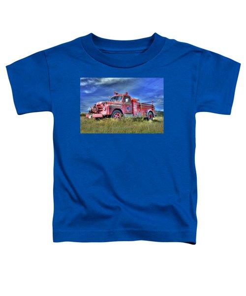 International Fire Truck 2 Toddler T-Shirt