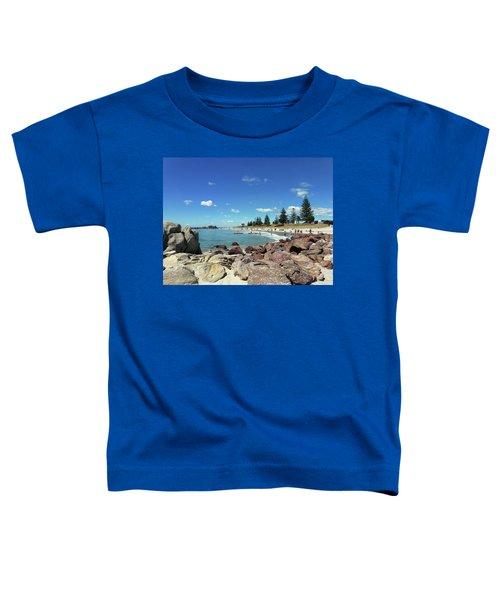 Mt Maunganui Beach 3 - Tauranga New Zealand Toddler T-Shirt