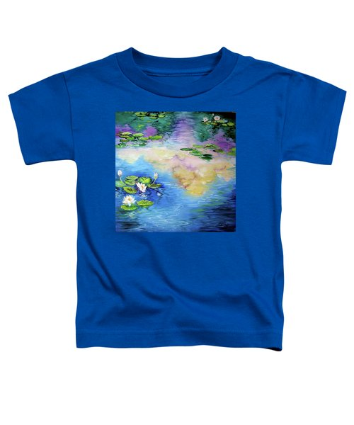 Reflections On A Waterlily Pond Toddler T-Shirt