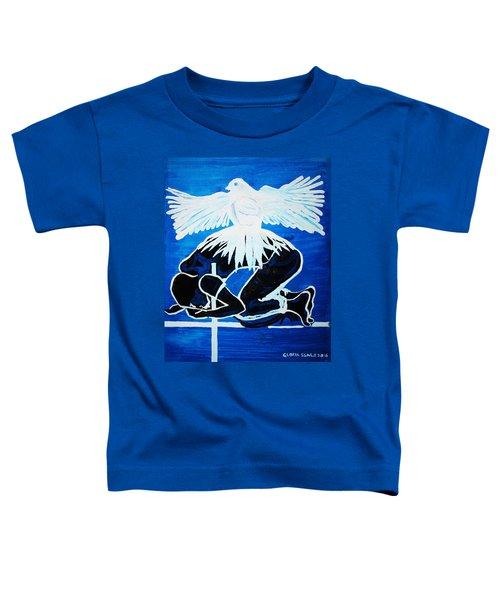Slain In The Holy Spirit Toddler T-Shirt