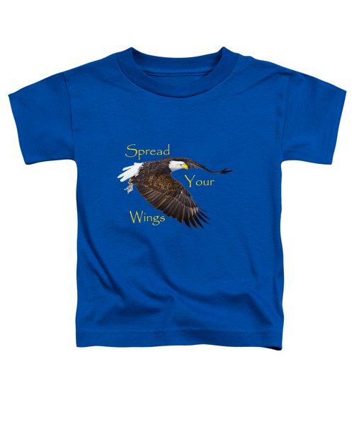 Toddler T-Shirt featuring the photograph Spread Your Wings by Greg Norrell