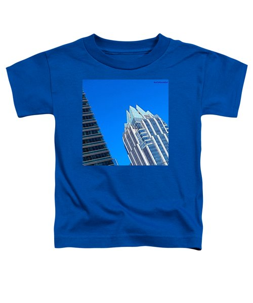 Such A Perfect #bluesky Day In Toddler T-Shirt