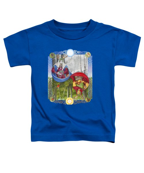 The Holly King And The Oak King Toddler T-Shirt