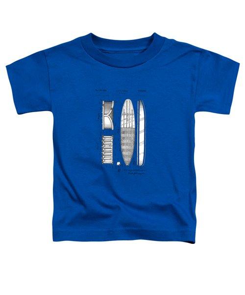 Vintage Surf Board Patent 1950 Toddler T-Shirt