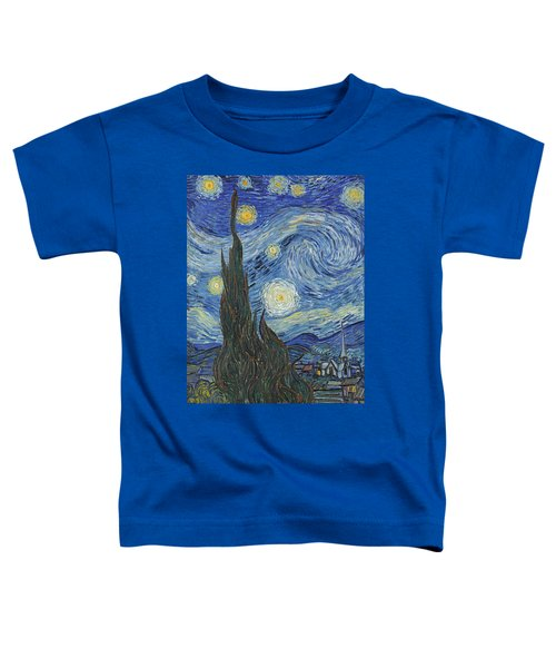 The Starry Night Toddler T-Shirt