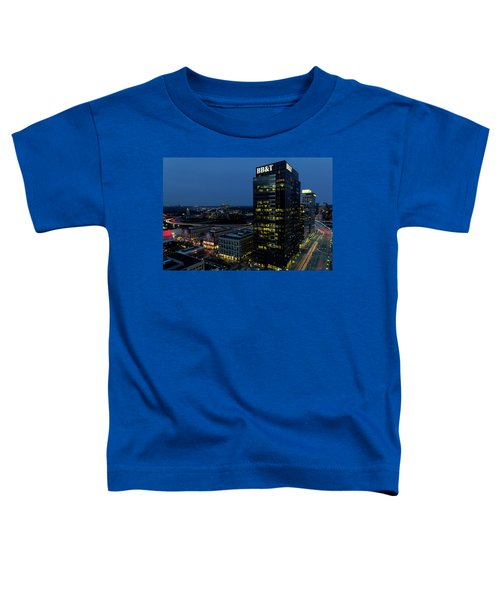 17th Street Skyline Toddler T-Shirt