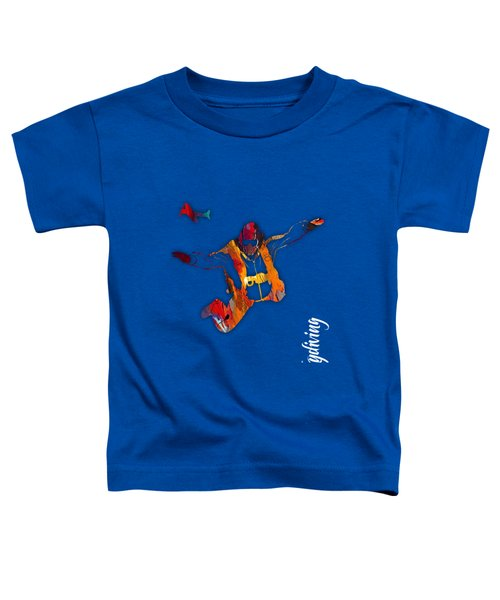Skydiving Collection Toddler T-Shirt by Marvin Blaine
