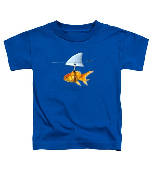 Gold Fish  Toddler T-Shirt by Mark Ashkenazi