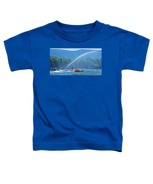 2017 Poker Run, Smith Mountain Lake, Virginia Toddler T-Shirt