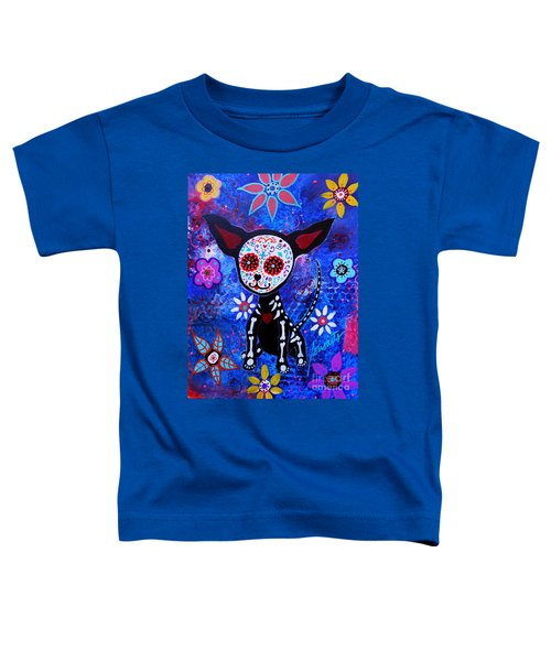 Chihuahua Day Of The Dead Toddler T-Shirt