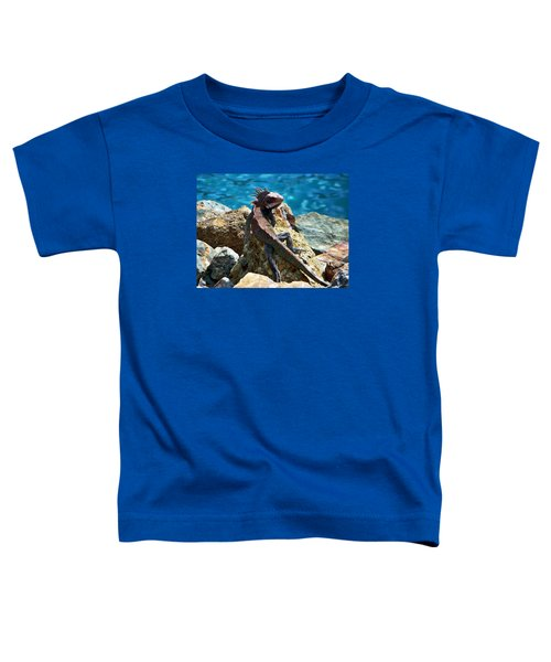 Green Iguana Toddler T-Shirt