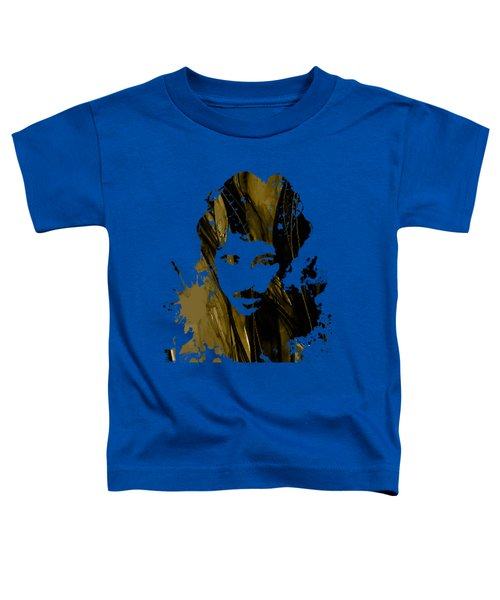 Bruce Springsteen Collection Toddler T-Shirt by Marvin Blaine