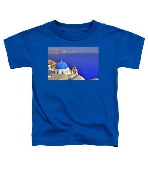 Oia - Santorini Toddler T-Shirt