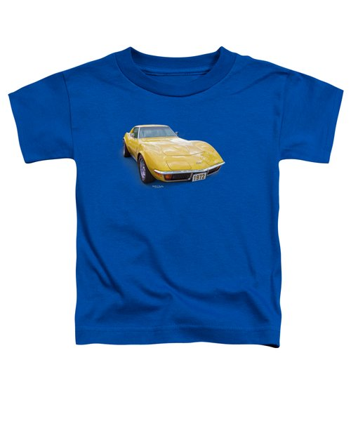 72 Corvette Toddler T-Shirt