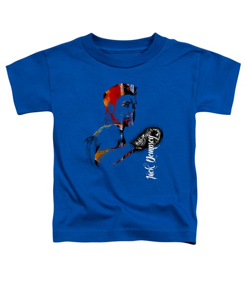 Jack Dempsey Collection Toddler T-Shirt by Marvin Blaine