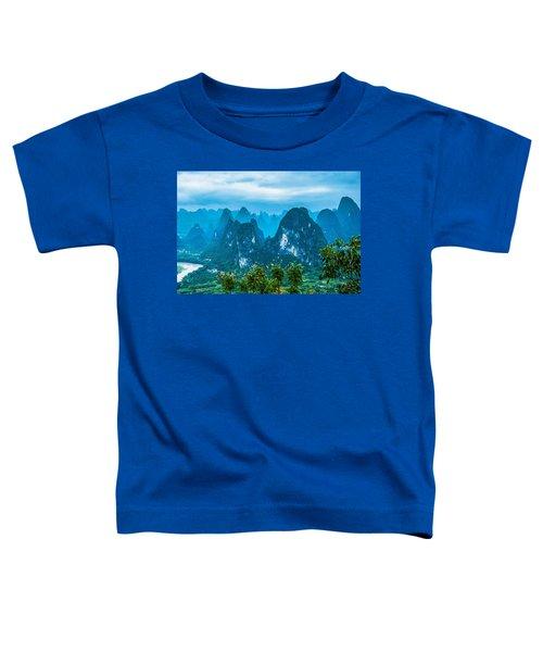 Karst Mountains Landscape Toddler T-Shirt