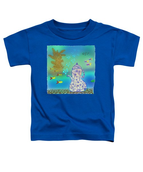 A Fishy Tea Pot Toddler T-Shirt