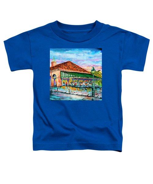 A Morning At Cafe Du Monde Toddler T-Shirt