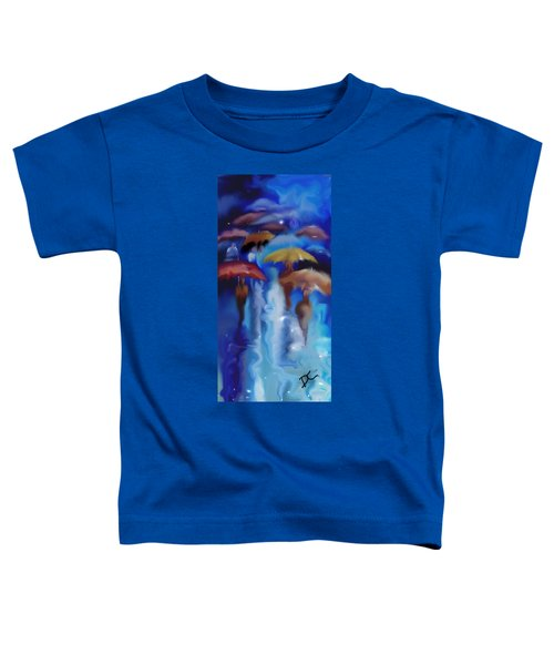 A Rainy Day In Paris Toddler T-Shirt