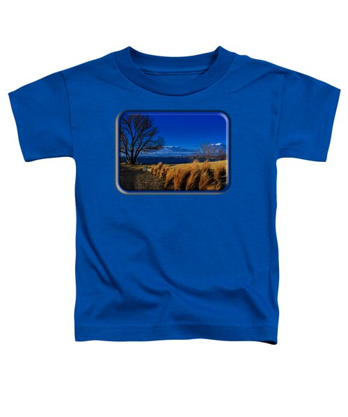 A Side Path Toddler T-Shirt by Mark Myhaver