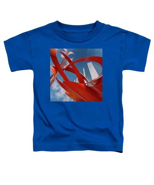 Abstract - Oklahoma City Toddler T-Shirt