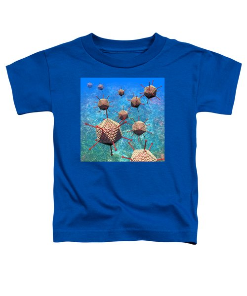 Adenovirus Particles 3 Toddler T-Shirt