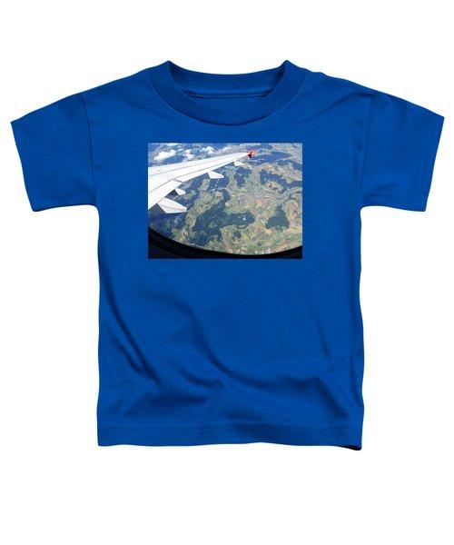 Air Berlin Over Switzerland Toddler T-Shirt