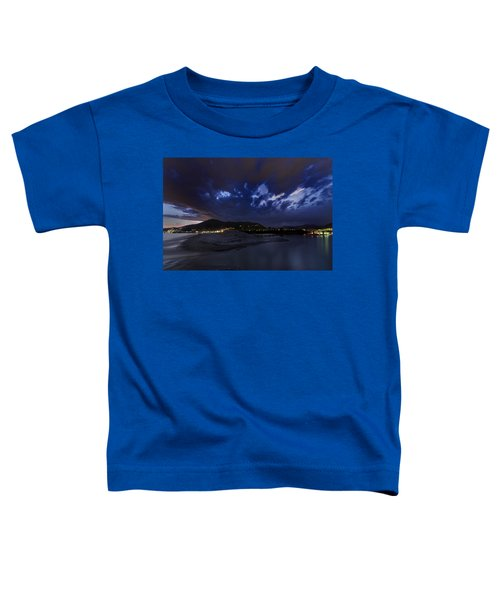 Albenga Alassio Coast Sunset With Clouds... Toddler T-Shirt