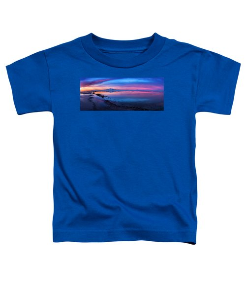 Antelope Island Sunrise Toddler T-Shirt