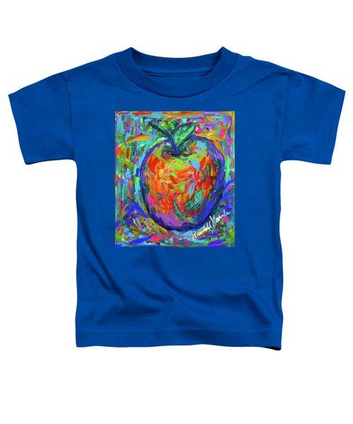 Apple Splash Toddler T-Shirt