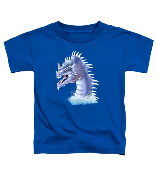 Arctic Ice Dragon Toddler T-Shirt by Glenn Holbrook