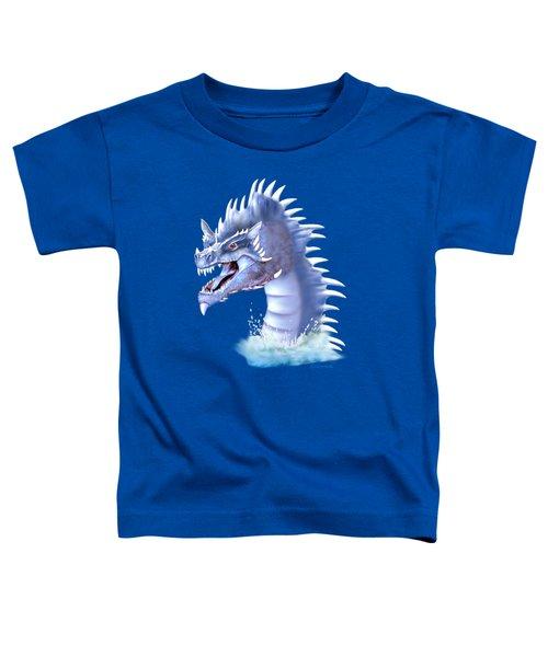 Arctic Ice Dragon Toddler T-Shirt