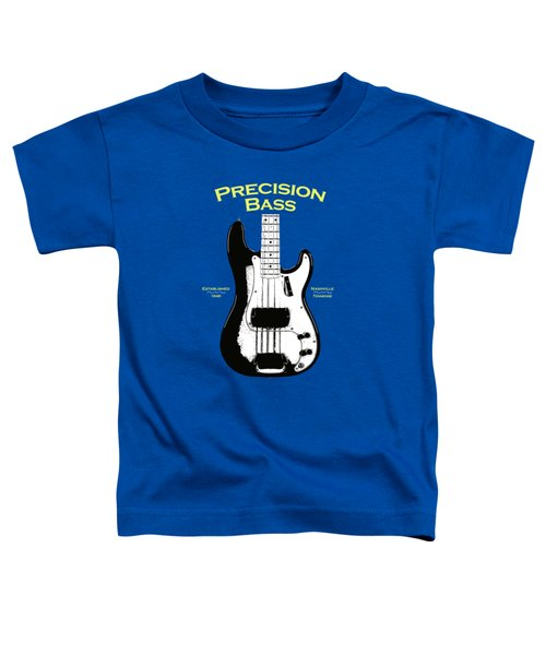 Fender Precision Bass 58 Toddler T-Shirt by Mark Rogan