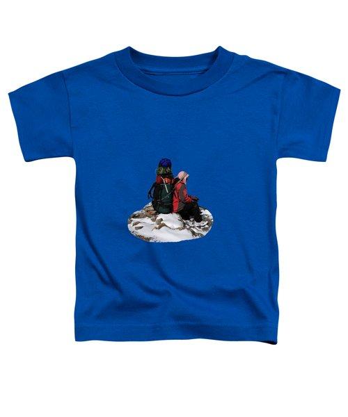 Himalayan Porter, Nepal Toddler T-Shirt