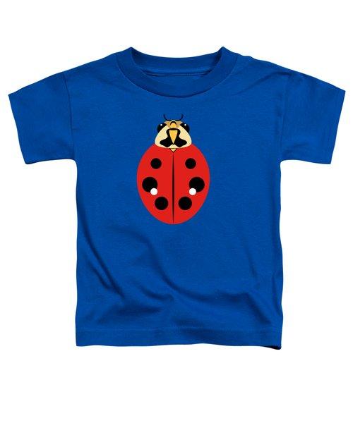 Ladybug Graphic Red Toddler T-Shirt