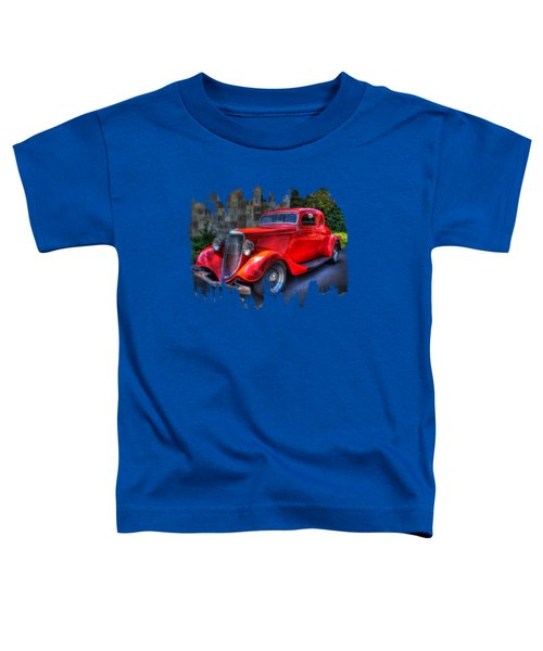 1934 Red Ford Coupe Toddler T-Shirt