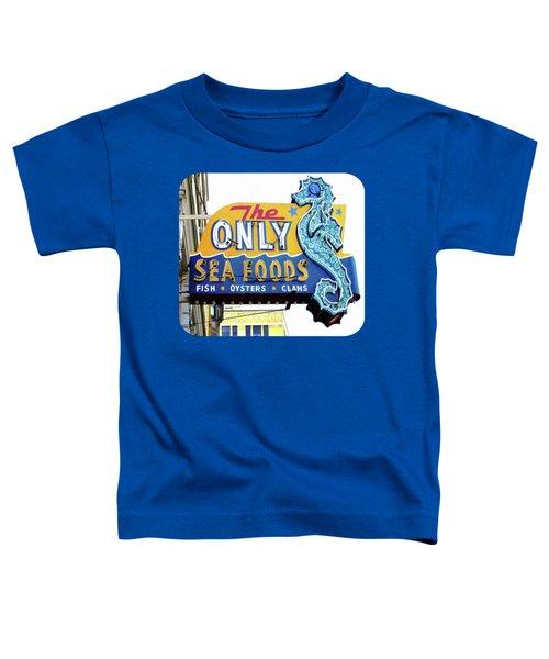 Cafe Sign Toddler T-Shirt
