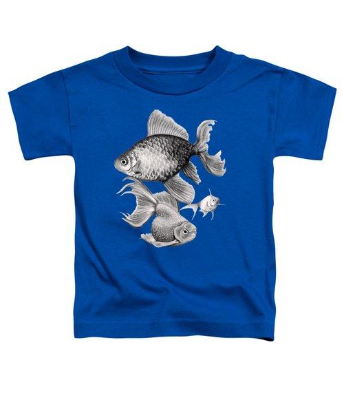 Goldfish Toddler T-Shirt by Sarah Batalka