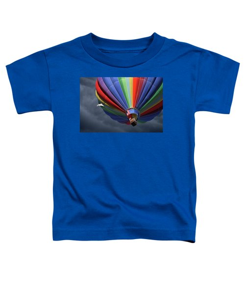 Ascending To The Storm Toddler T-Shirt
