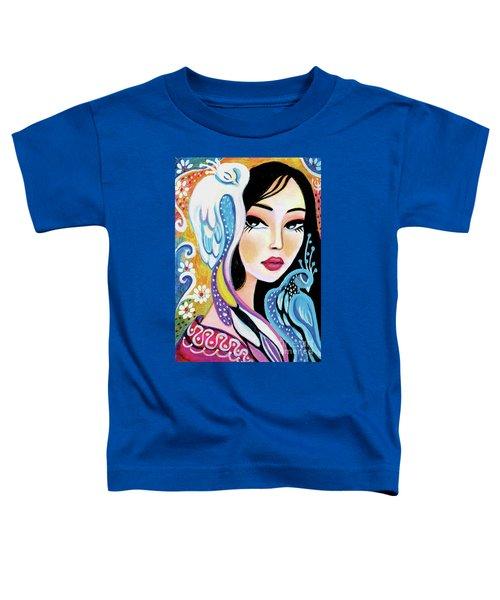 Asian Bird Toddler T-Shirt